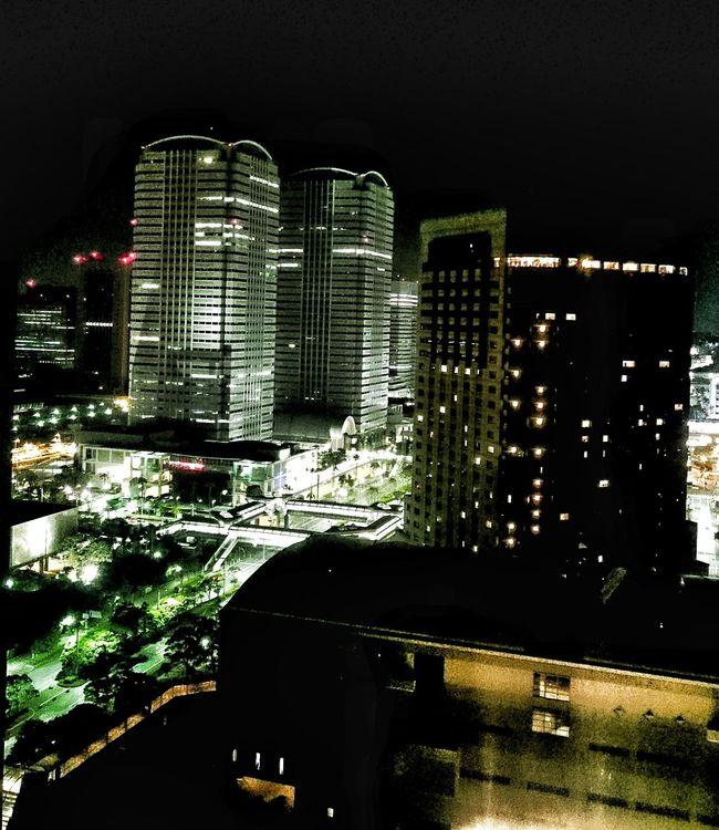 Makuhari Tokyo Japan City Chiba Night Lightatnight Travel ASIA World