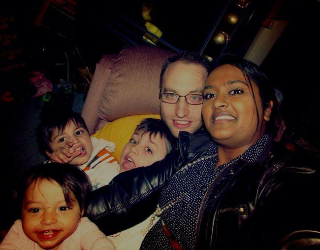 Love my beautiful family