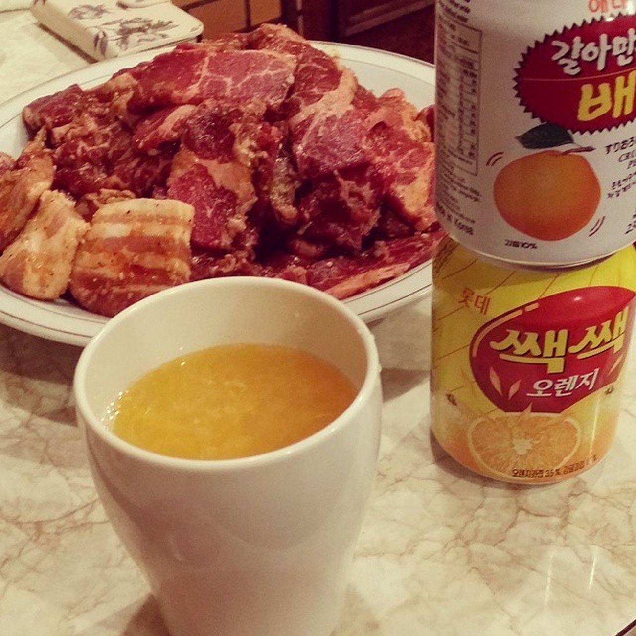 バレンタインデー だけど 焼肉 パーティー🐰💓🙌 まかない カルビ 쌕쌕 배 Korean Food What's For Dinner? Enjoying A Meal