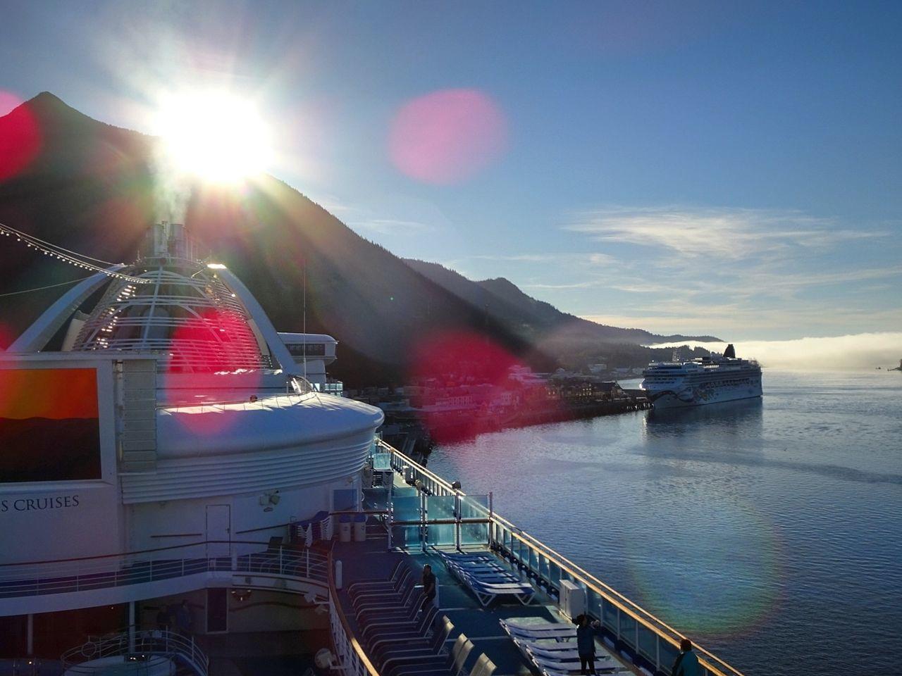 Finding New Frontiers Ketchikan Alaska Cruise Ship Mountains Shiny Lightleaks Nature Manvsnature