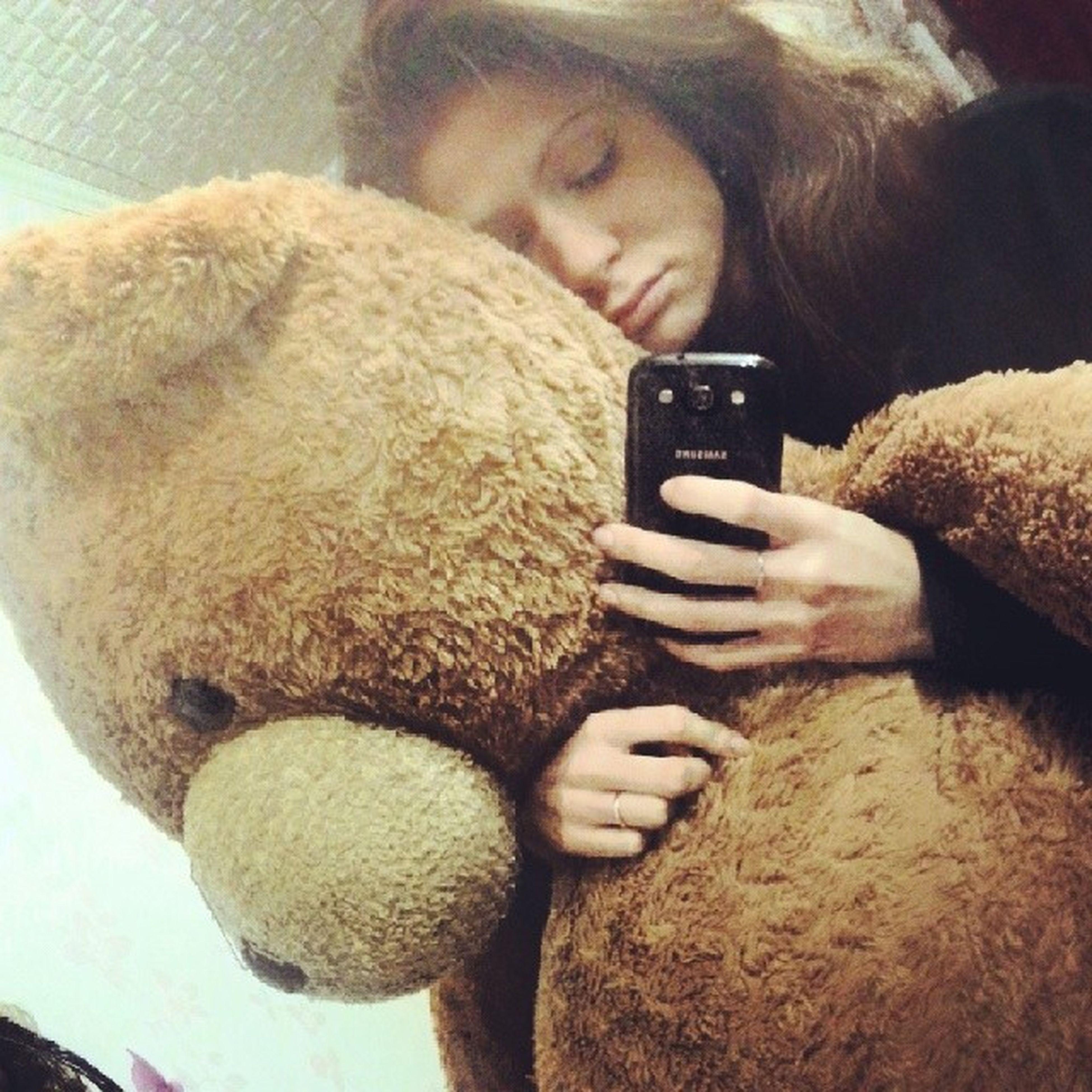 Мы с мишей хотим спать!( Me Morning плюшевые Daria