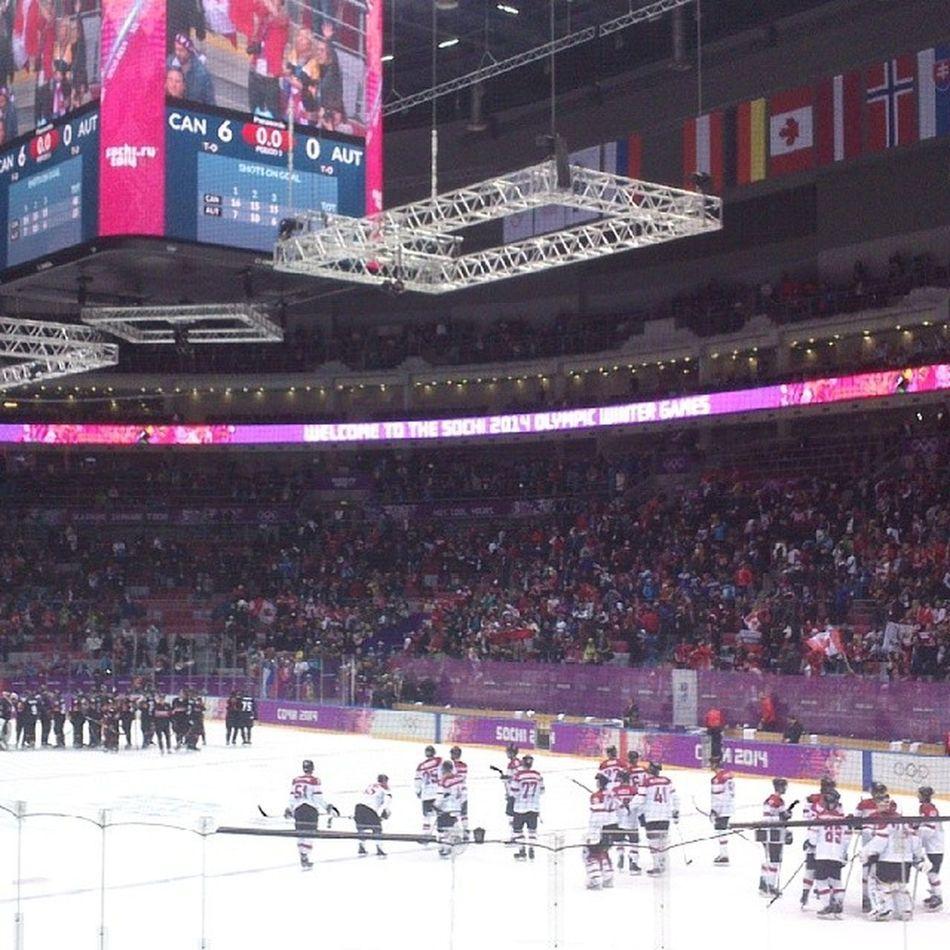 Хоккей олимпийскиеигры сочи2014 канадаавстрия 6:0
