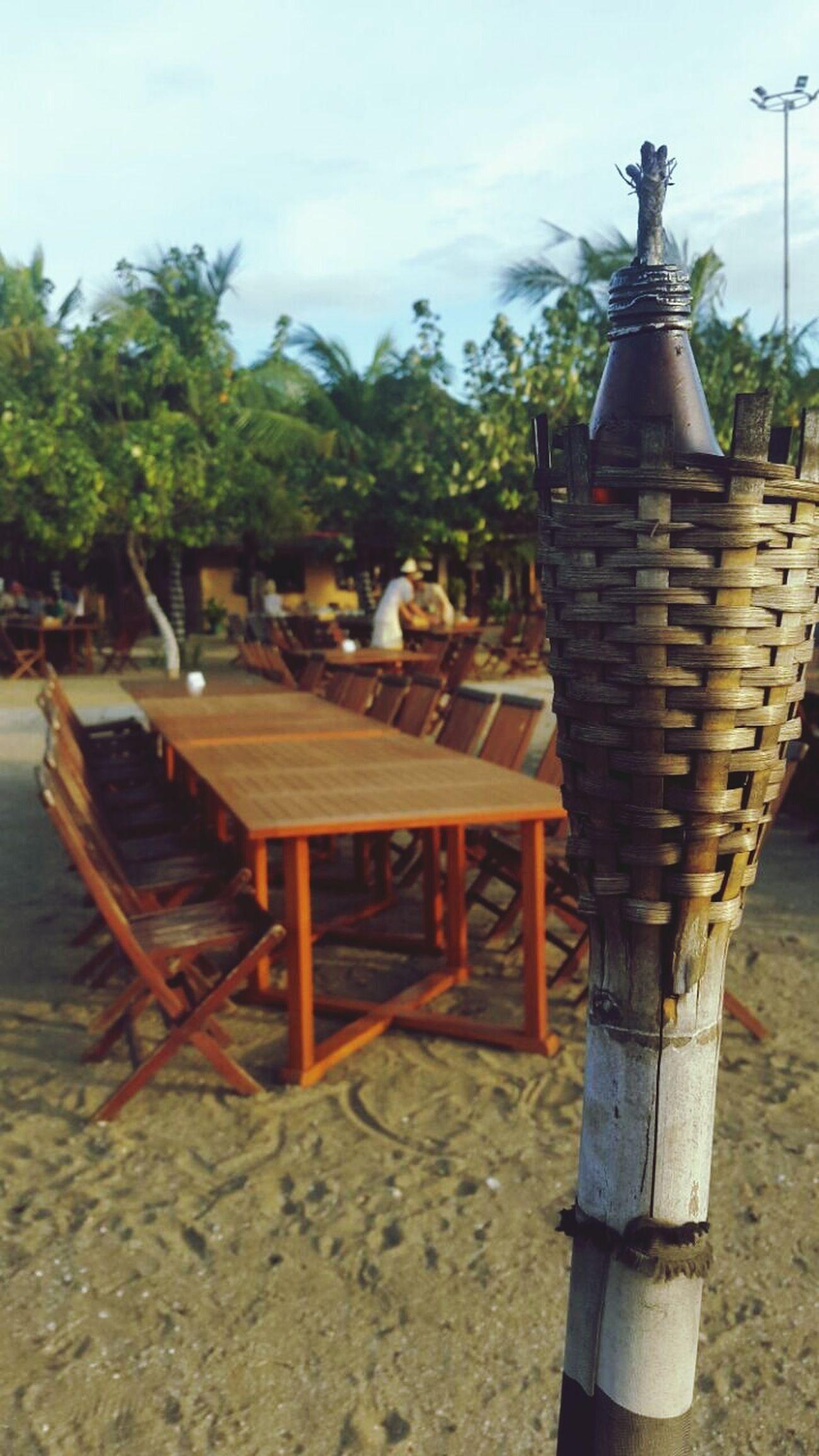Beach Restaurant Bamboodesign Enjoying The Sunset Beachphotography