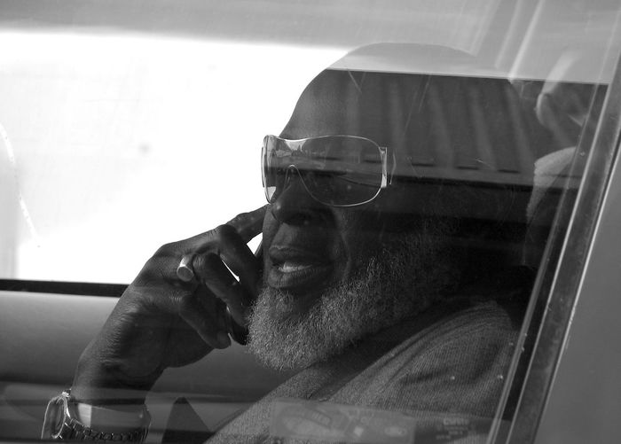 A taxi driver. Airport Waiting Cab Driver Casual Clothing Close-up Sunglasses Taxi Driver Up Close Street Photography White Beard