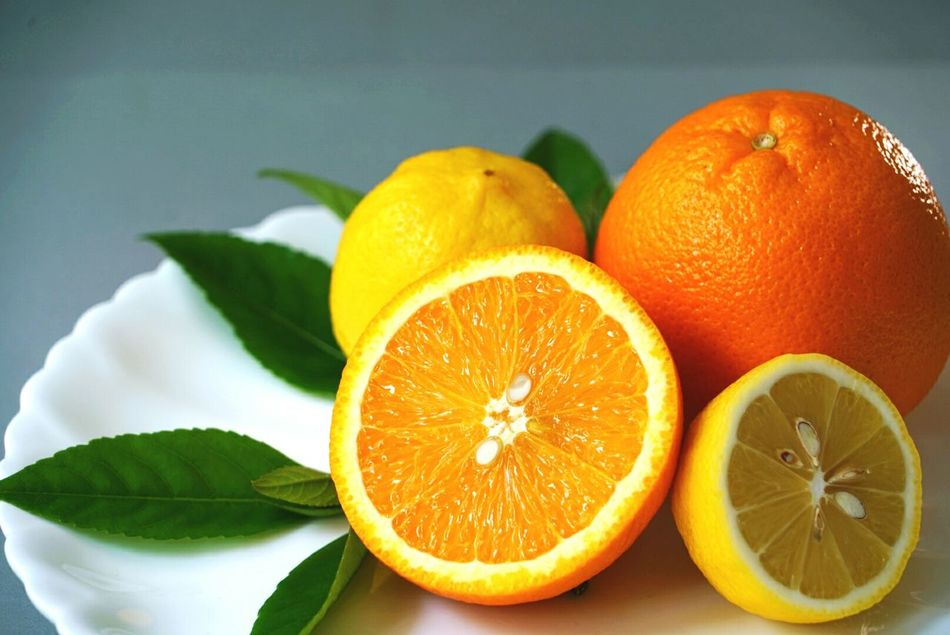 Healthy Eating Citrus Fruit Freshness Fruit Food And Drink Food Vitamin SLICE Vitamin C No People Studio Shot Cross Section Grapefruit Indoors  Healthy Lifestyle Vegetarian Food Close-up Food Styling Leaf Ready-to-eat