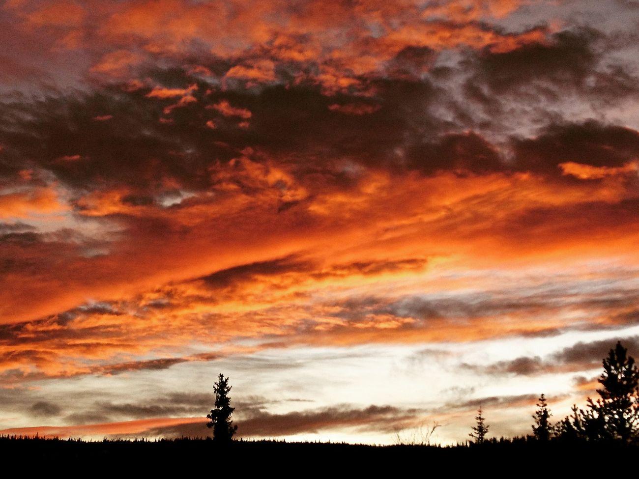 Sunset Sky Nature Beauty In Nature Cloud - Sky Dramatic Sky