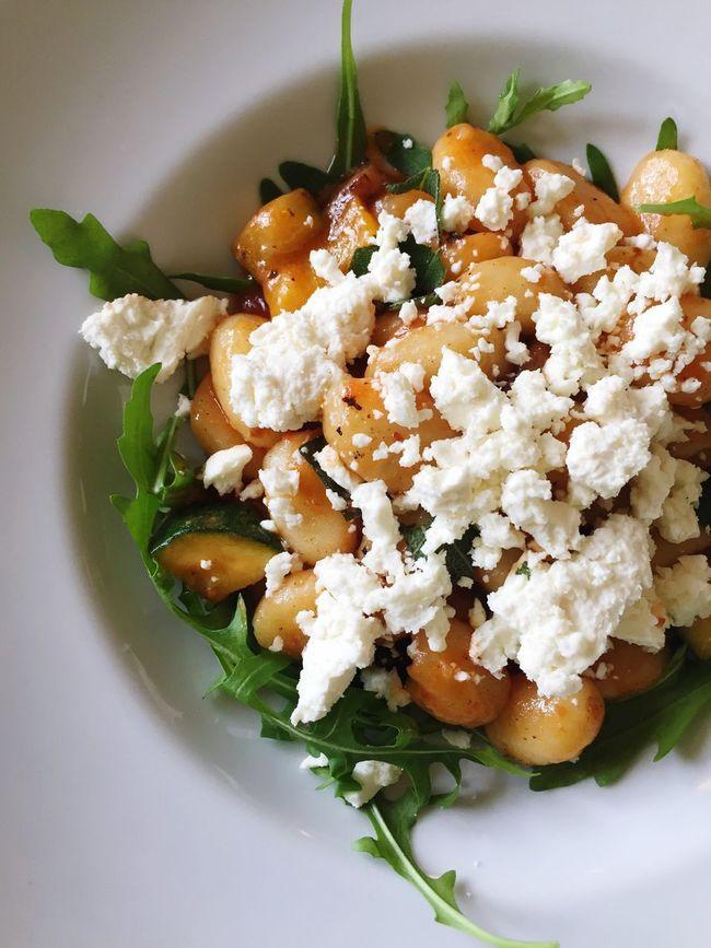 Food Lunch Gnocci Vegetarian Food