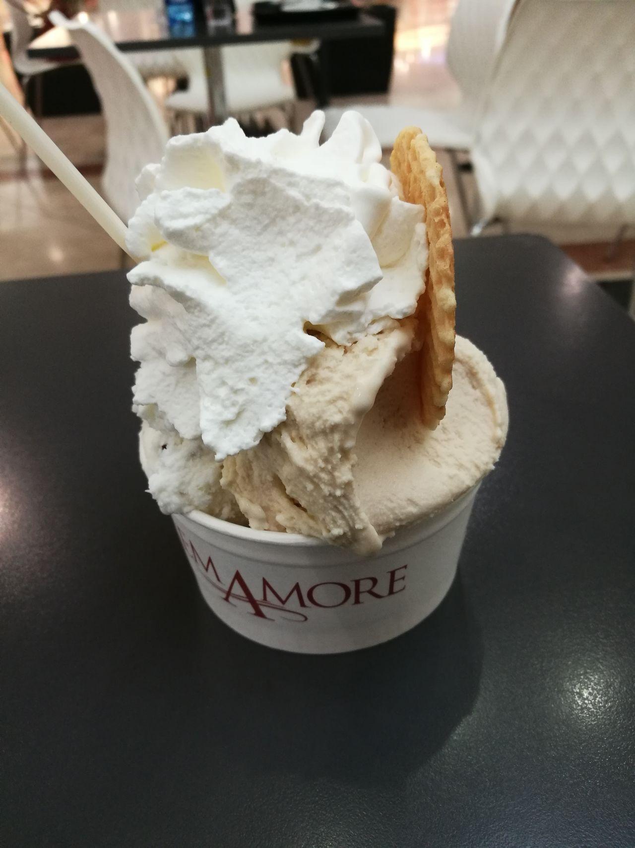 Ice Cream Sweet Food Frozen Food Gelato Panna Coppetta