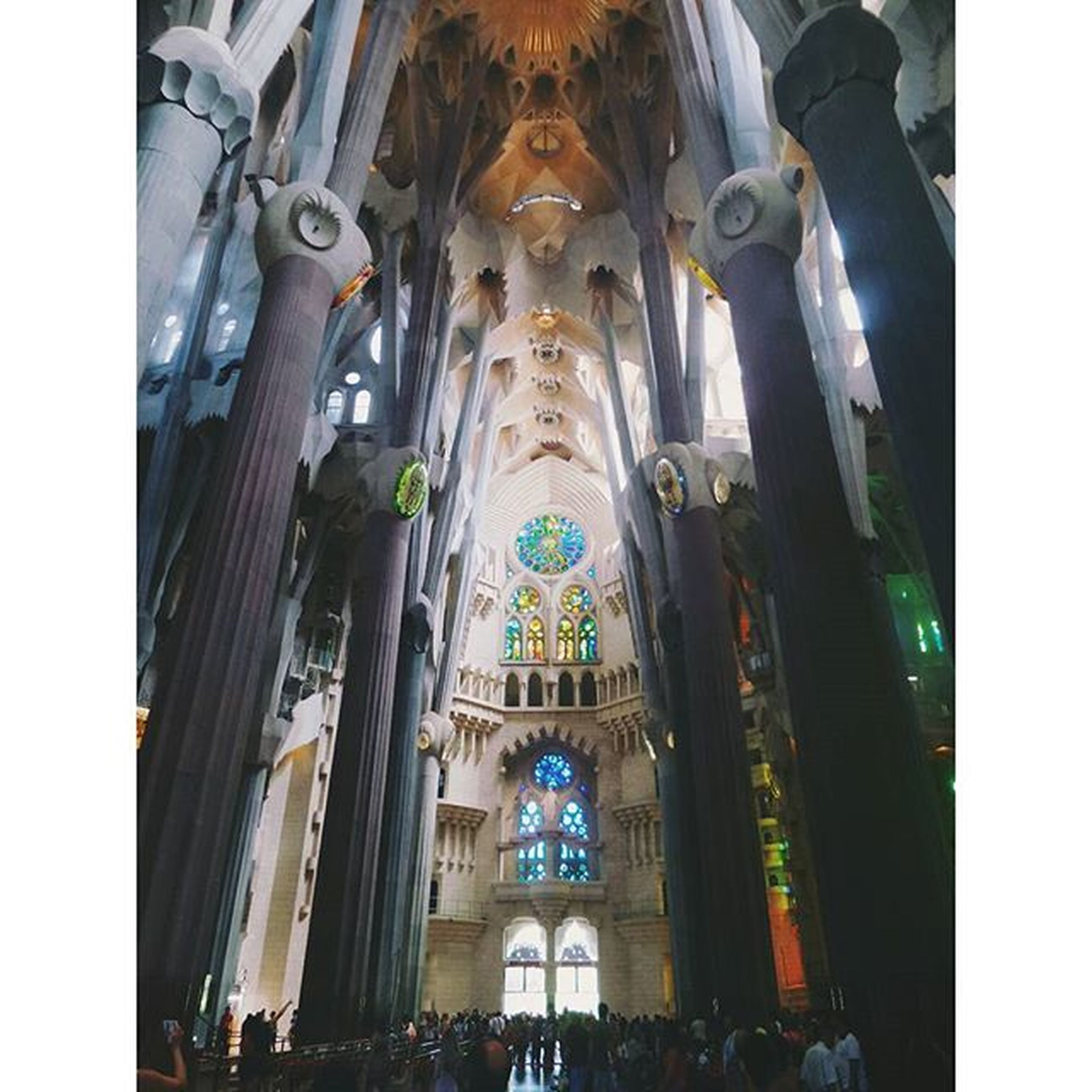 place of worship, religion, architecture, spirituality, built structure, church, transfer print, arch, building exterior, famous place, low angle view, cathedral, large group of people, travel destinations, tourism, travel, auto post production filter