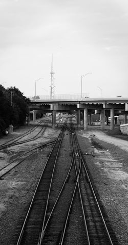 Inspire the liars. Railroad Track Transportation No People Outdoors Built Structure Blackandwhite First Eyeem Photo EyeEmNewHere EyeEmNewHere The Street Photographer - 2017 EyeEm Awards