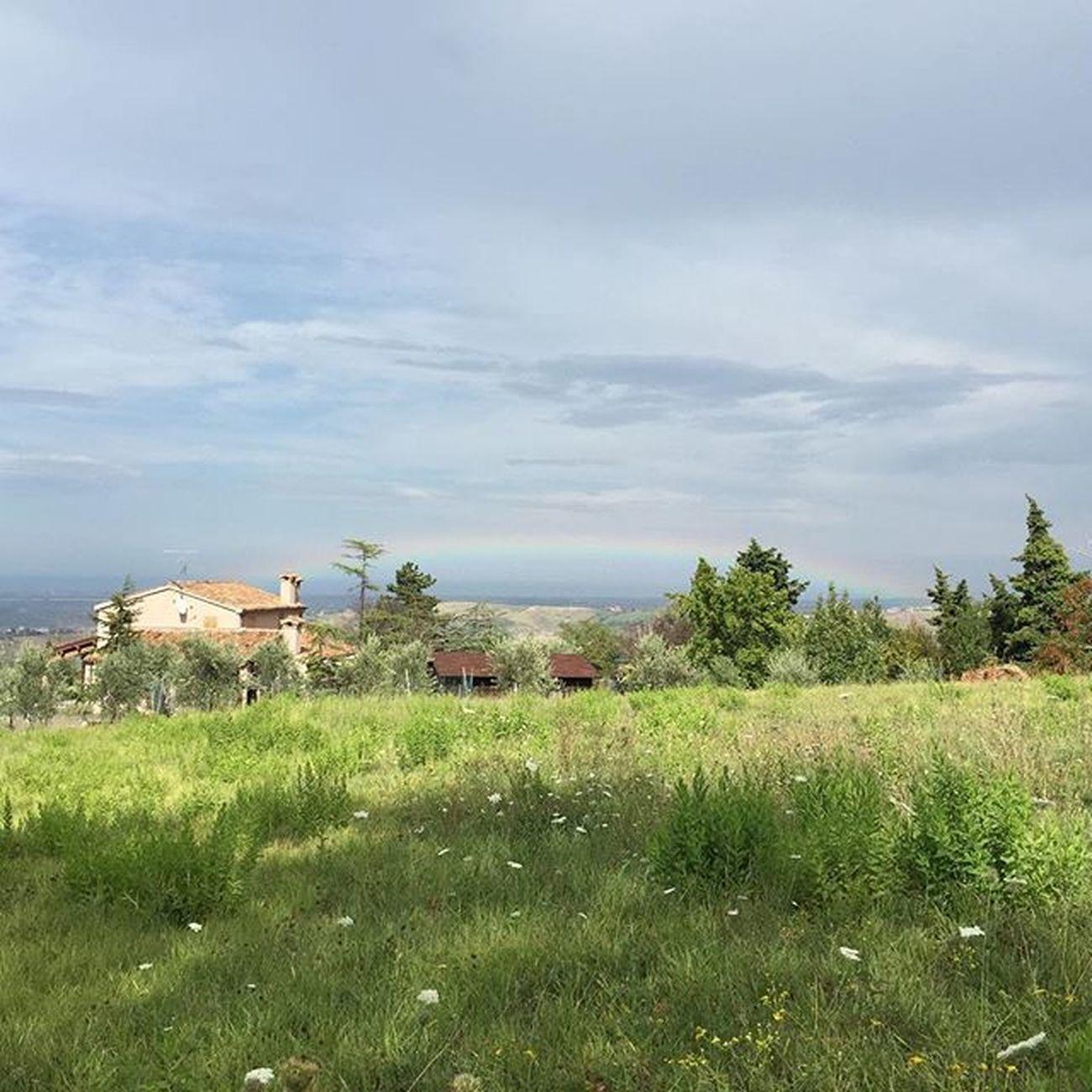 Foto da San Marino Arcobaleno  sul Mare Panorama Rimini Rainbow Picture Picoftheday Vscogood Vscdaily Vscobest Instapic Instacool Instamood Instadaily Panoramic Panoramicviews Beautiful Color Summer Holiday
