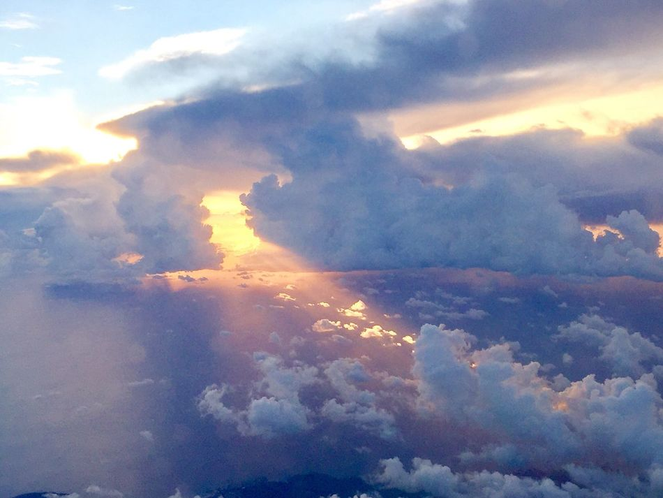 Over The Clouds Travel Peacefulness