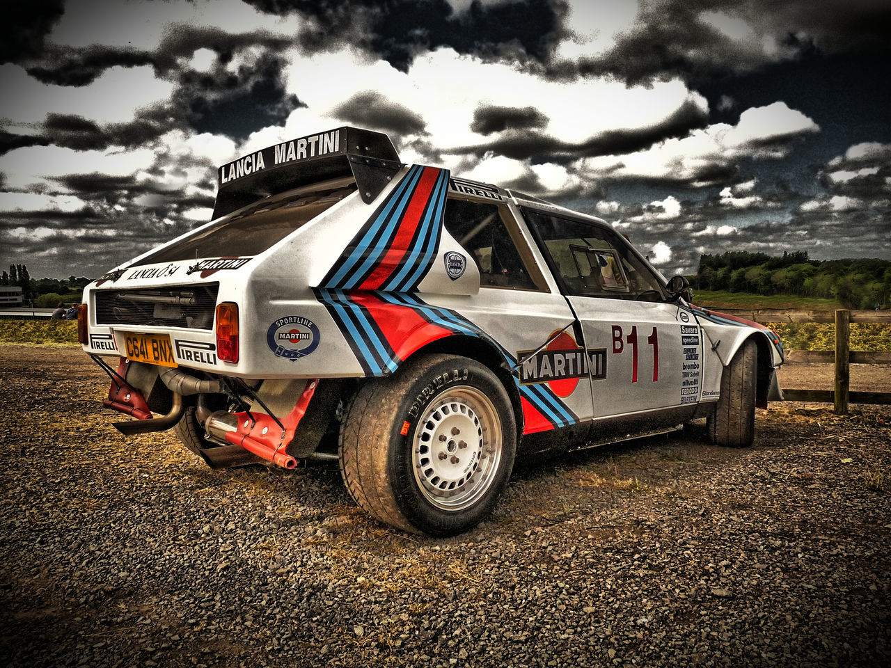 4 Wheel Drive Cloud - Sky Day Delta Group B HDR Hdr_Collection Lancia Martini No People Outdoors S4 Sky Transportation Rally Car Rally Rallygallery
