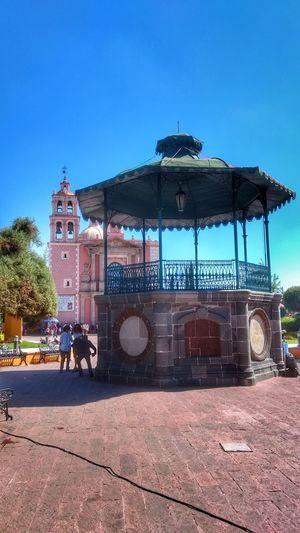 Outdoors Day Sky Architecture No People Queretaro,Mexico Tequis Kiosco  Kiosco Ciudad Jardin