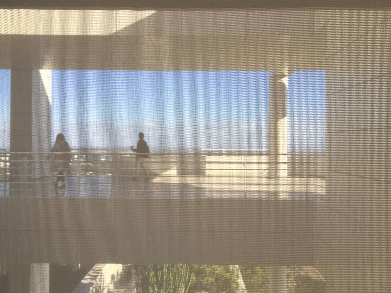 Architecture Built Structure Geometric Shape Rectangular Frame Behind The Shades Architecture The Getty Center Los Angeles, California IPhoneography Light And Shadow Architectural Detail Window Frame