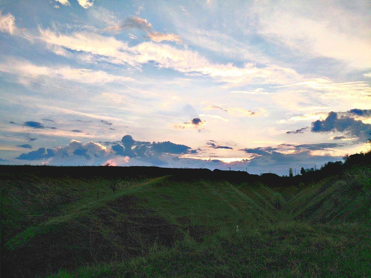 небо небо облака небо⛅️ облака Закат закат🌇 воронежская область