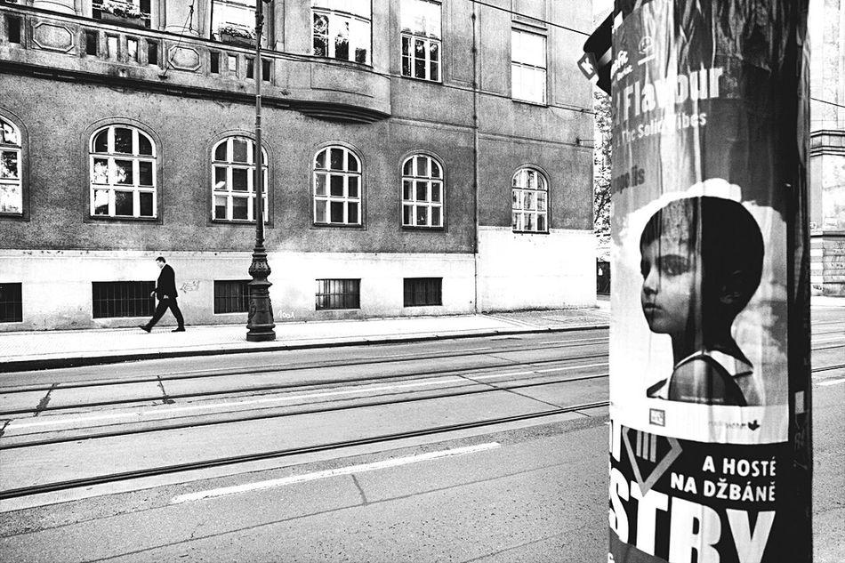 Streetphotography B&w Photography Monochrome _ Collection Blackandwhite Photography B&W Collective Praga Man Urban Landscape Streetphoto_bw EyeEm In Prague