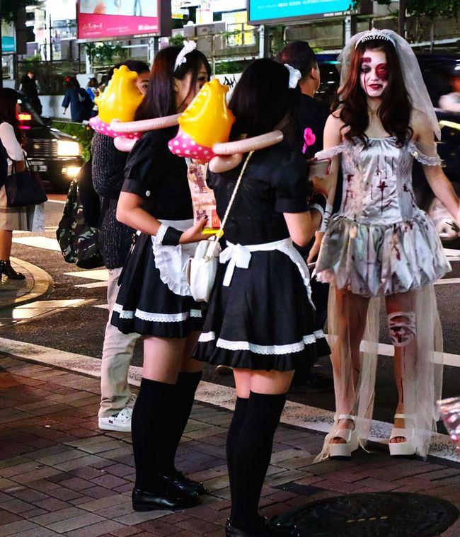 Halloween2015 Halloween EyeEm Halloween Horrors Halloween Makeup Halloween Tokyo Street Happy Halloween! Tokyo Halloween Halloween_Collection Halloweenparty EyeEm Best Edits
