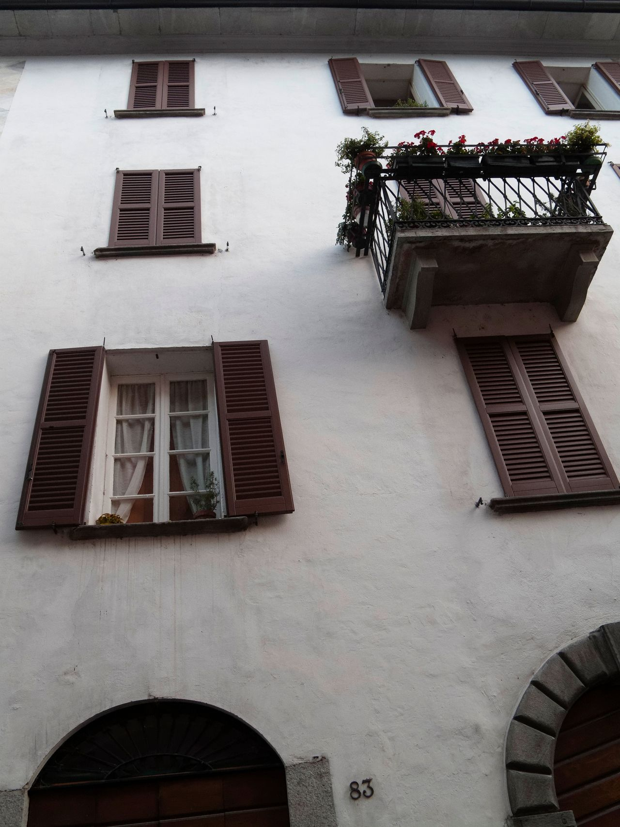 Architecture Balcony Building Exterior Built Structure Day Low Angle View No People Outdoors Sky Window