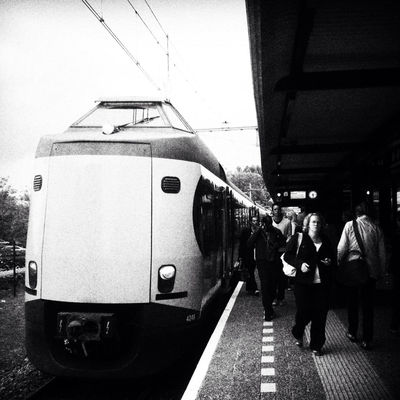 streetphotography at Station Heerenveen by Michelle Hamstra
