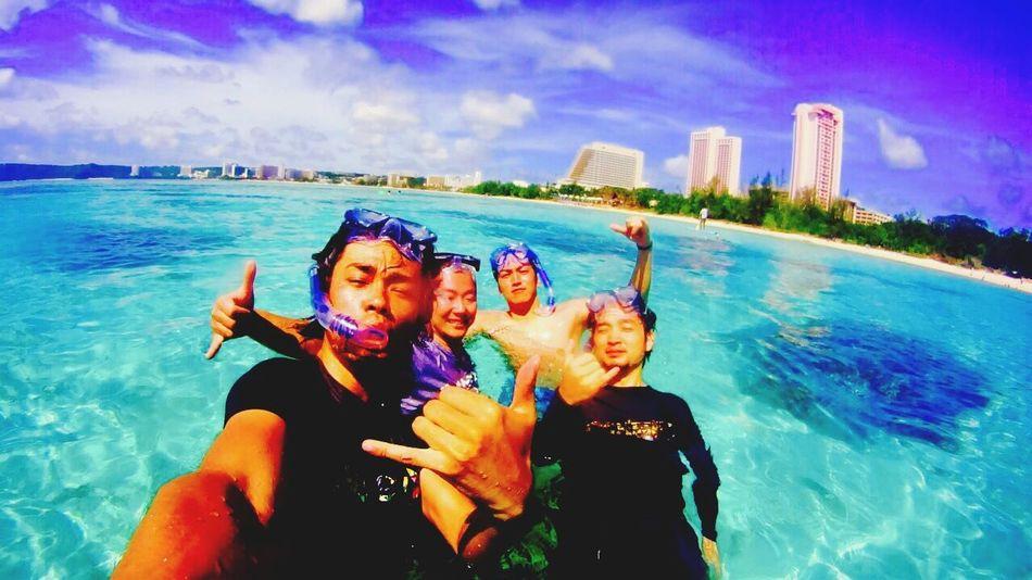 何度もしつこく仲間とグアム旅行の記録 仲間 Guam 2015