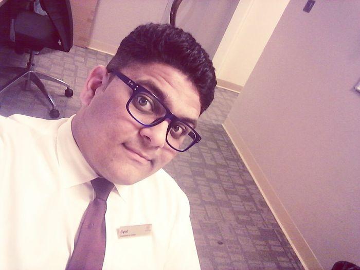 Boring nyt shift selfiee... First Eyeem Photo