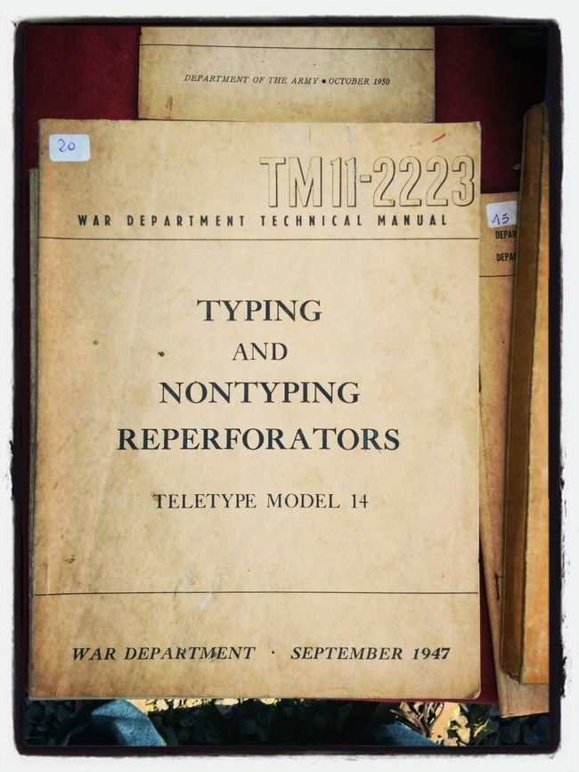 """Typing and nontyping reperforations"" Marzaglia"