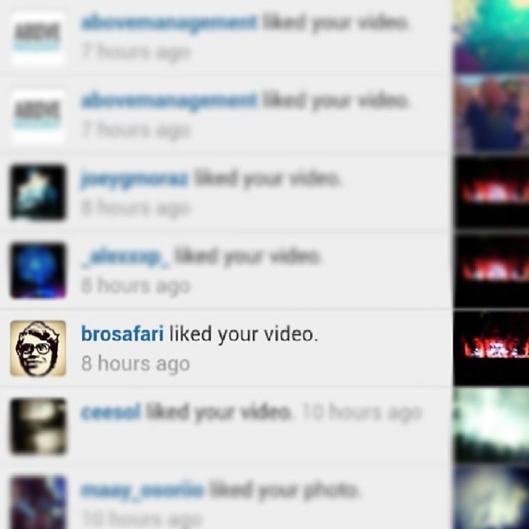 NO FUCKING WAY, @brosafari Brosafari fucking kills hit set and then likes my video!!!!!!!! Eeeeeeeeek!!!! Cant wait to sharethe stage with this dude some day!!! Tomorrowworld Day2 Itsatrap