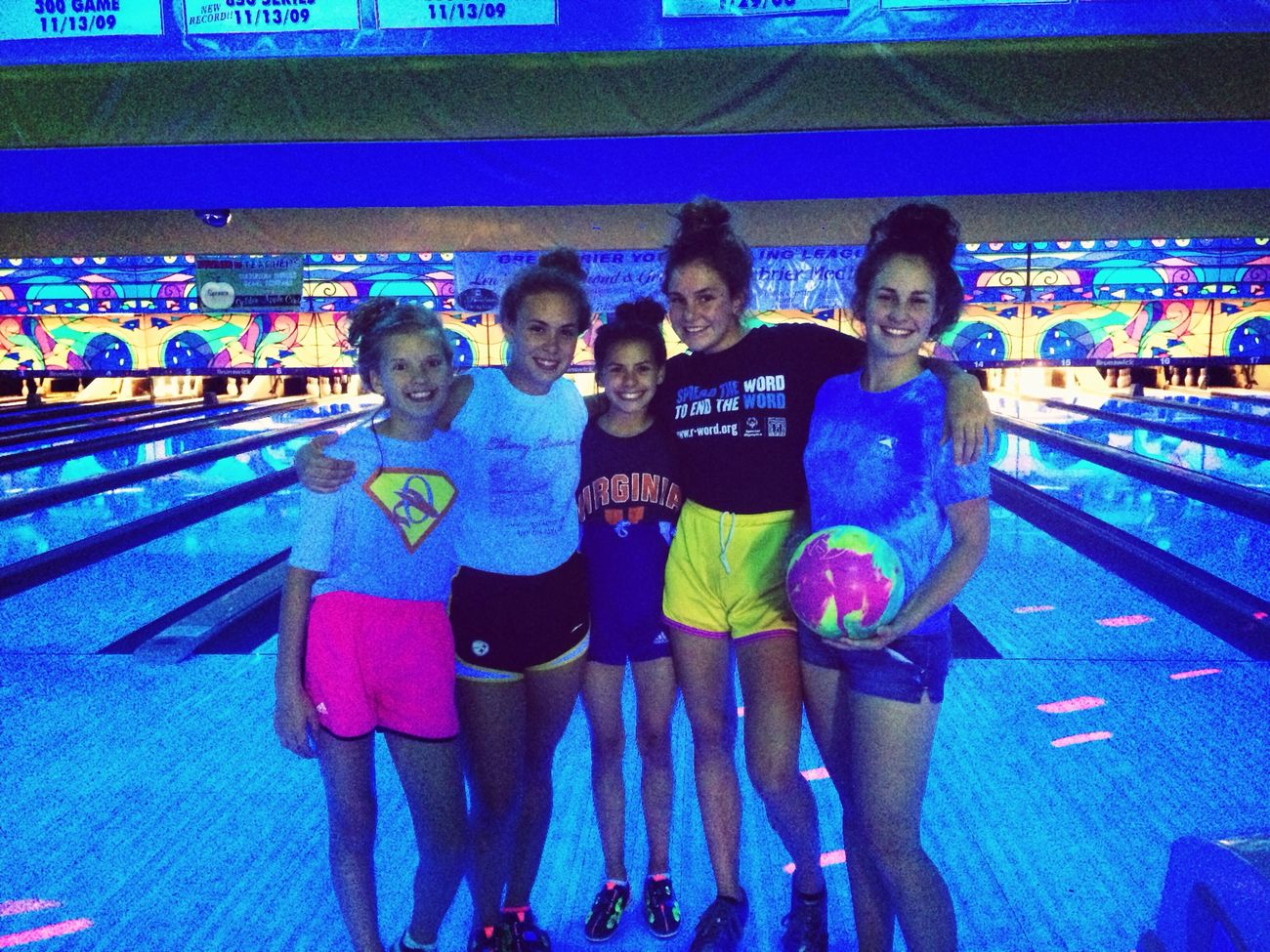 bowling in ronceverte!!