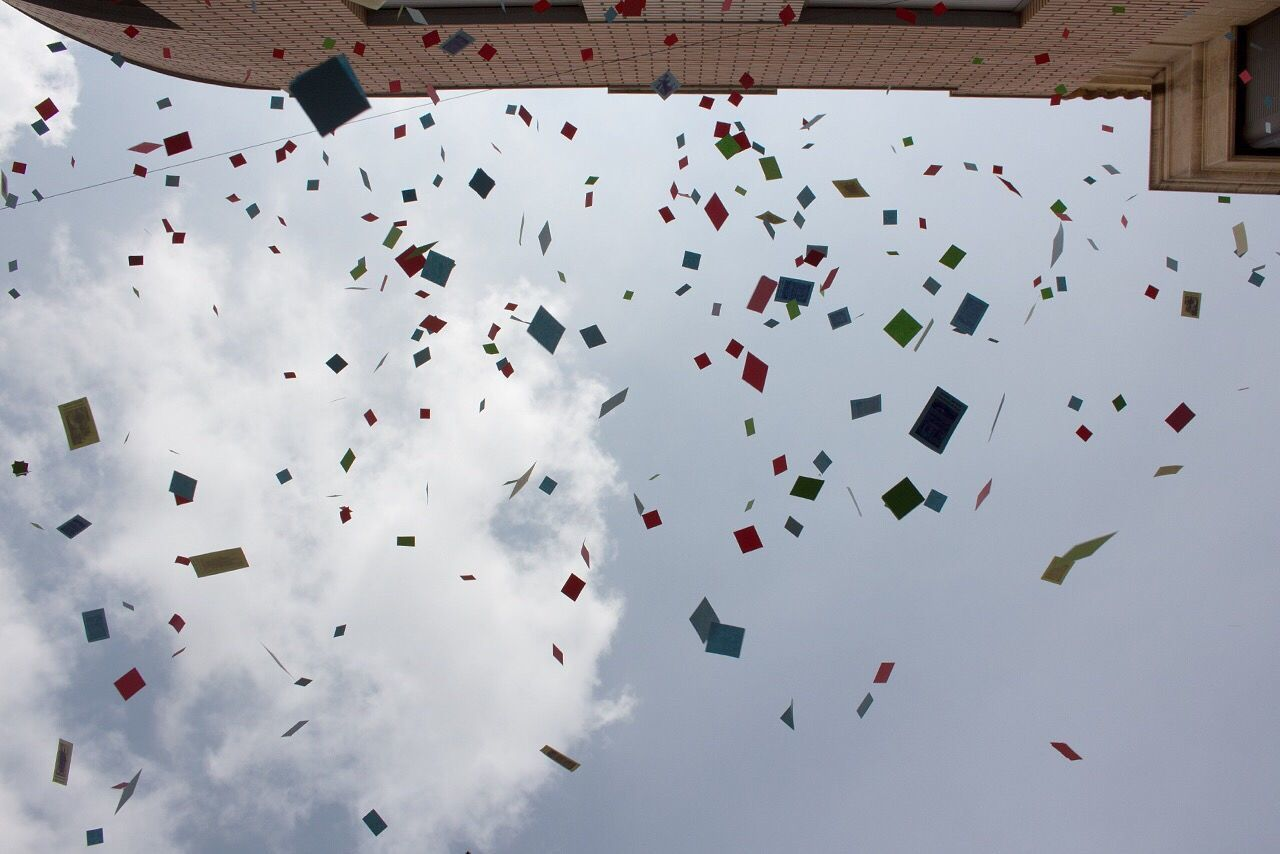 Confetti Easter Almoradi Festival Look Up The Photojournalist - 2017 EyeEm Awards