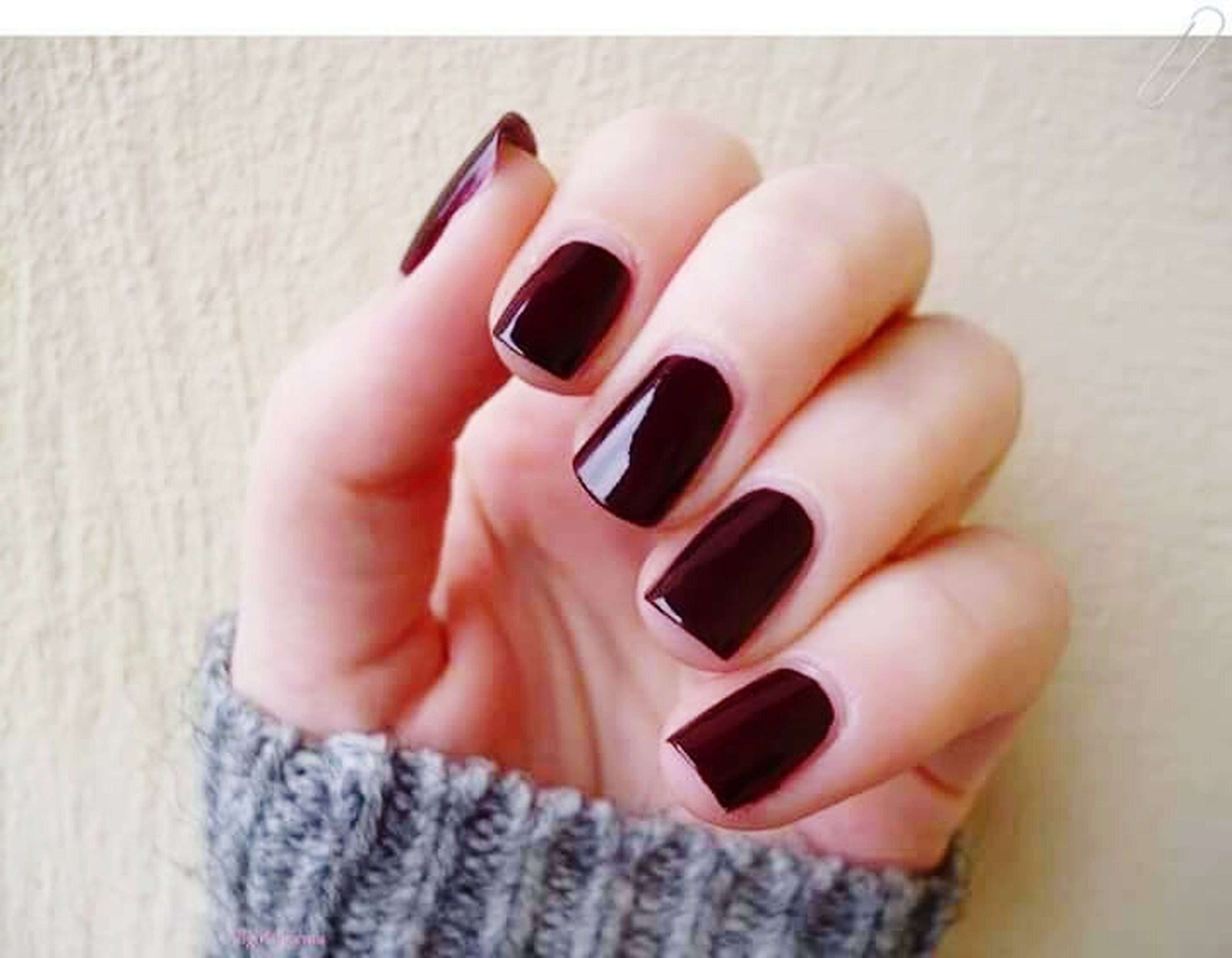 person, indoors, part of, holding, human finger, close-up, cropped, ring, lifestyles, nail polish, connection, high angle view, unrecognizable person, leisure activity, technology, personal perspective