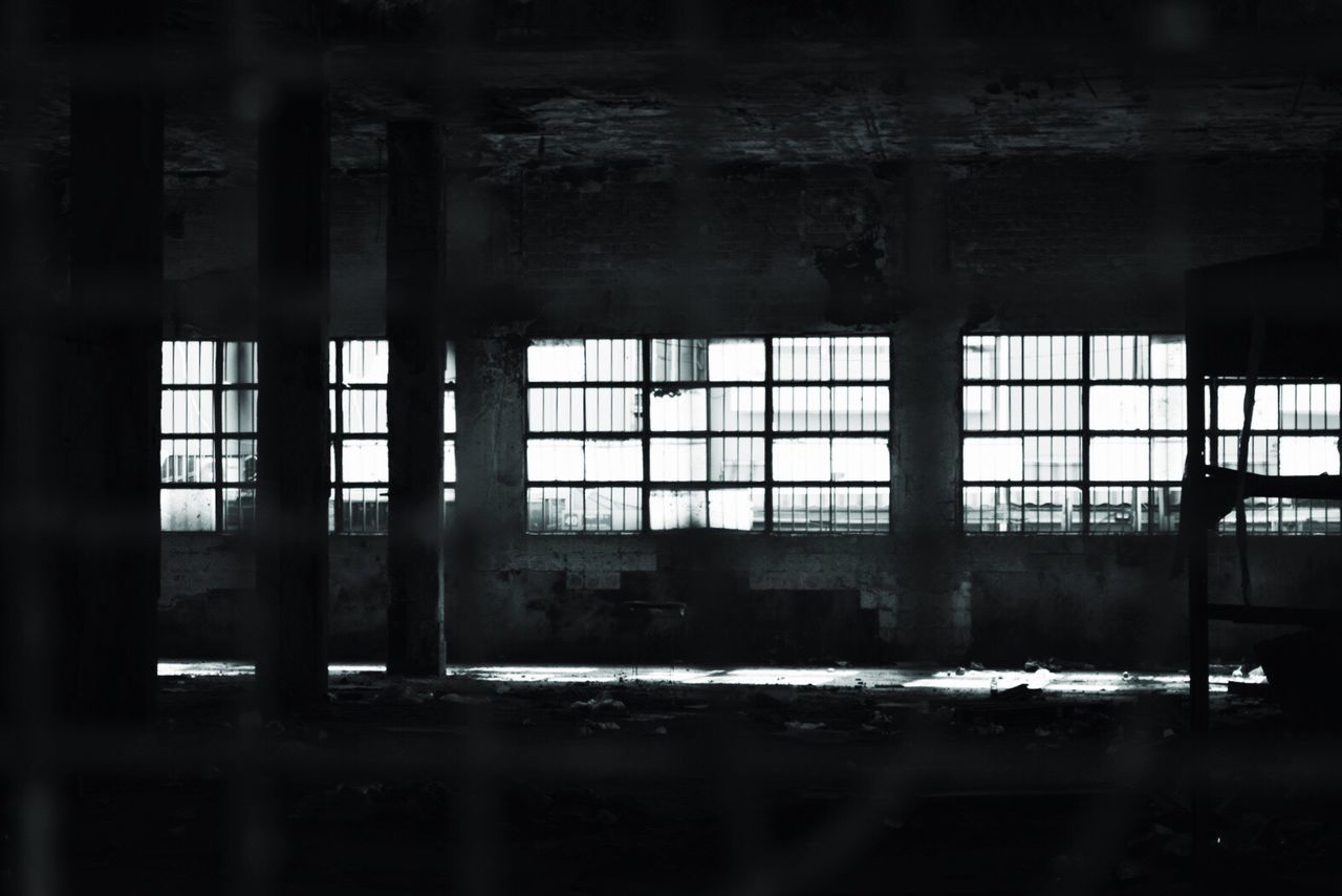 window, indoors, abandoned, architecture, no people, built structure, day, bad condition