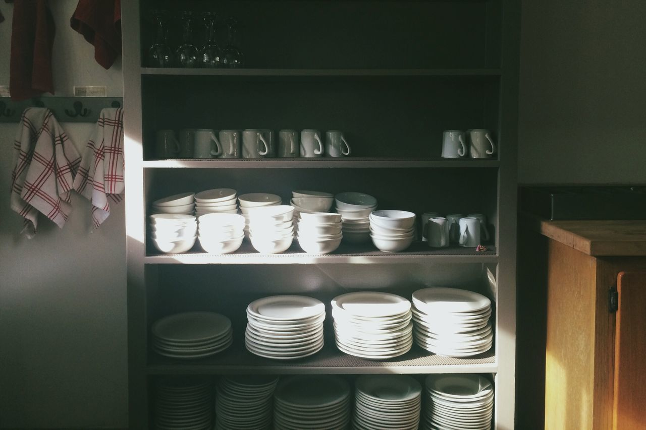 shelf, variation, indoors, arrangement, shelves, large group of objects, choice, stack, retail, no people, neat, day