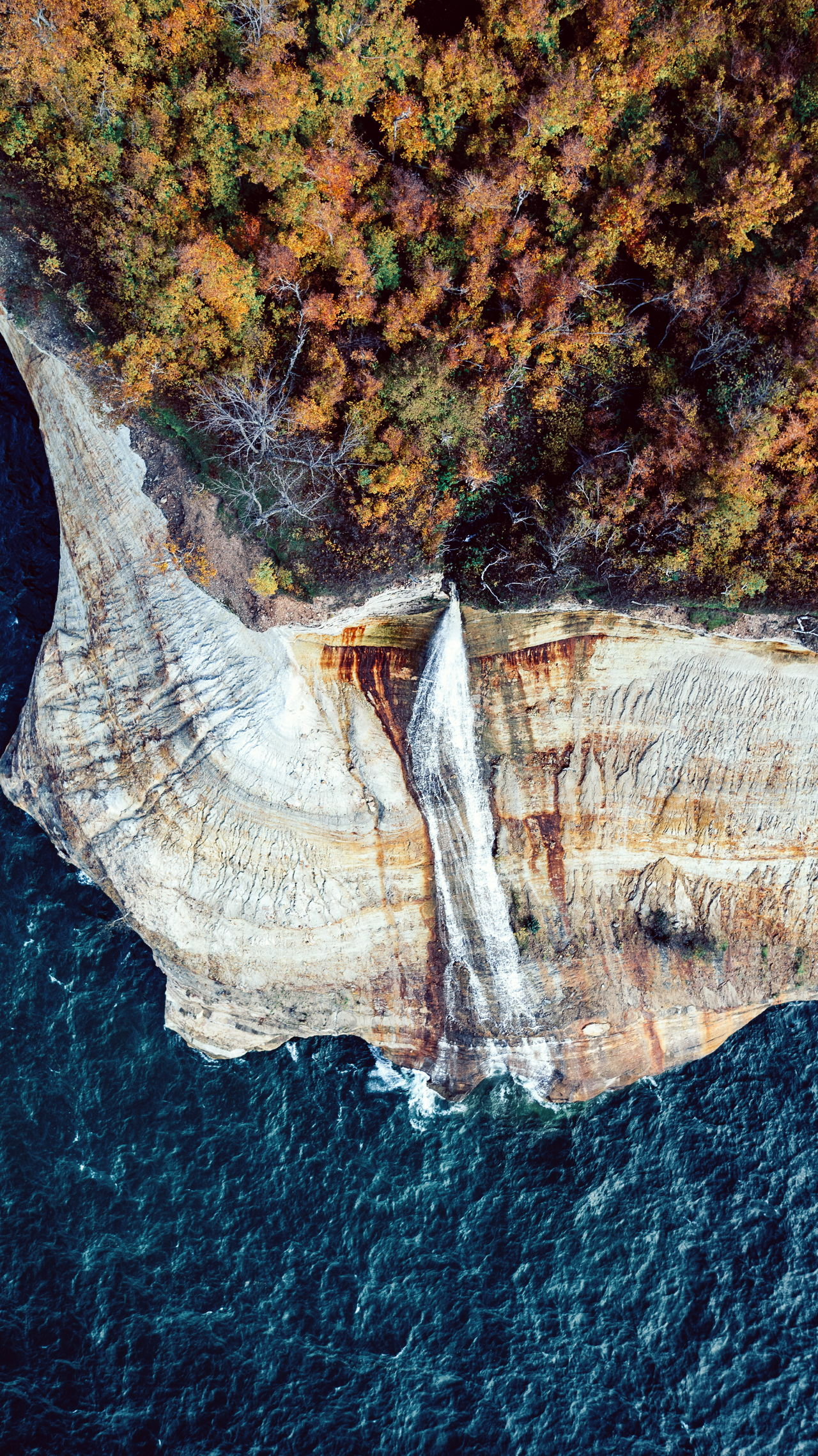 fall Fall Beauty Autumn Autumn colors waterfall Nature outdoors mountain water blue waves Drone birds eye view Tranquility adventure Wanderlust beauty in Nature Fresh on Market 2017