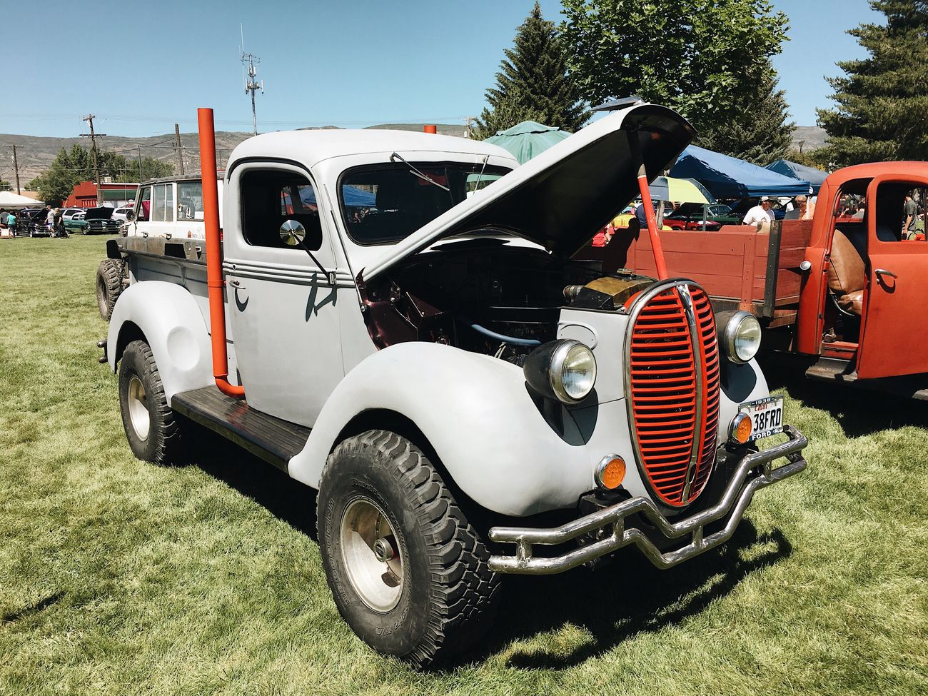 more from the car show today. Heber City, 'back to the 50s' car show. Heber City