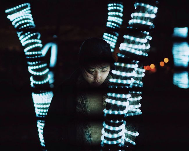 Capture The Moment VSCO Portrait Night Lights Nightphotography Bokeh EyeEm Best Shots People
