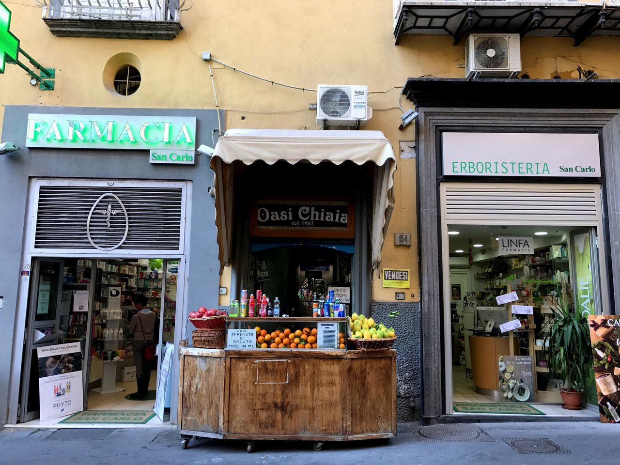 Quale la medicina migliore? Store Small Business Building Exterior Retail  Outdoors Restaurant City Food And Drink Food Built Structure Variation Bakery Store Sign Day Architecture Food And Drink Industry Sweet Food No People Freshness Napoli Napolipix Napoli Street Napoli Italy