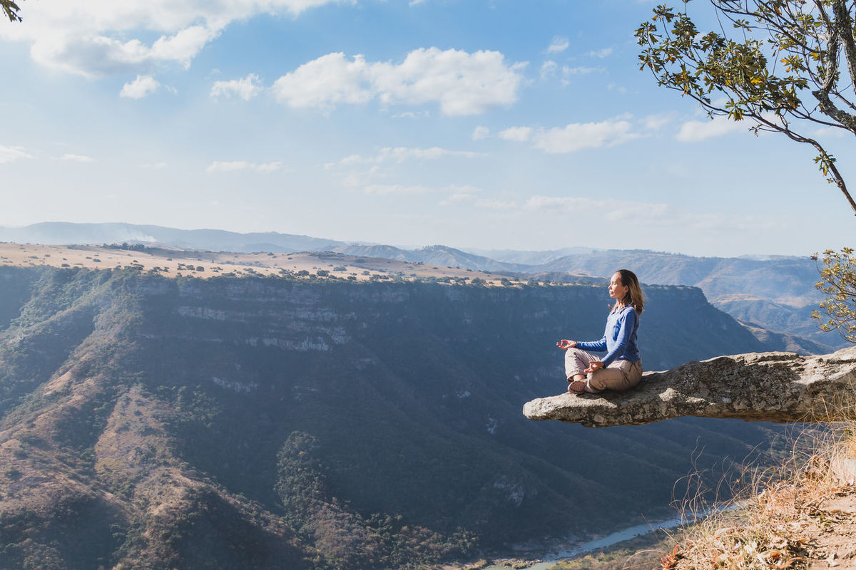 Backpacking Calm Canyon Casual Clothing Cloud - Sky Day Gorge High Ledge Leopards Rock Meditation Mountain Mountain Range Oribi Gorge Overhang Scenic Scenics Sky Sky And Clouds South Africa Tranquil Scene Tranquility Traveling View From Above Woman