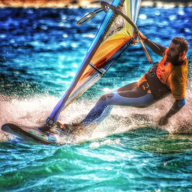 Water Swimming Pool Kitesurfing Windsurfer Windsurf Sky Sea And Sky Sealife Water One Person Day Outdoors Real People Close-up Swimming Pool Sky People Adults Only Adult Mountain Travel Destinations