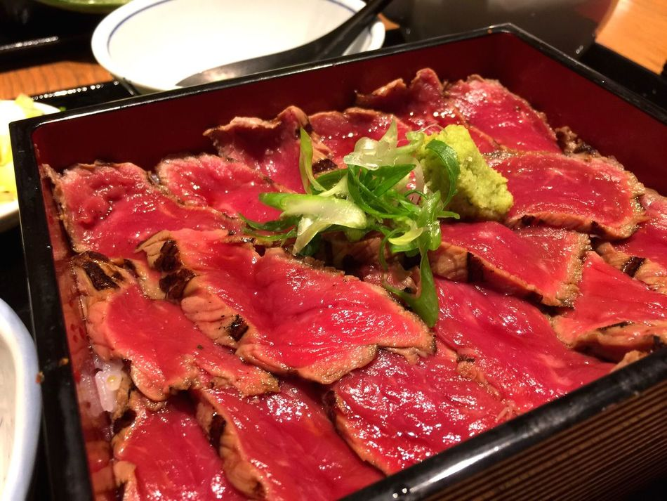 Japanese Food Foodporn Food Roastbeef Yummy Delicious Gorgeous Yes 日本 日本食 牛のたたき 牛肉のたたき 飯テロ 豪華 美味しそう 美味しい 食事