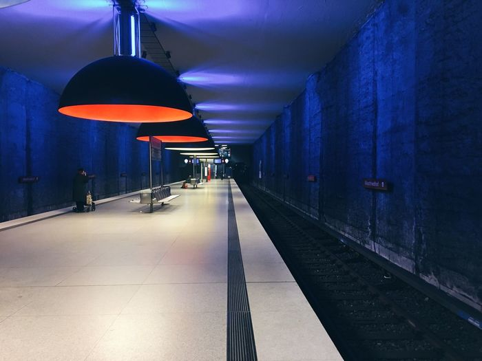 Architecture Bavaria Cemetery Central Perspective Dark Design Empty Germany Light Loneliness Metro Munich, Germany München No People One-point Perspective Platform Station Subway Station Symmetry The Way Forward Train Station U Bahn Underground Untypical Westfriedhof Neighborhood Map