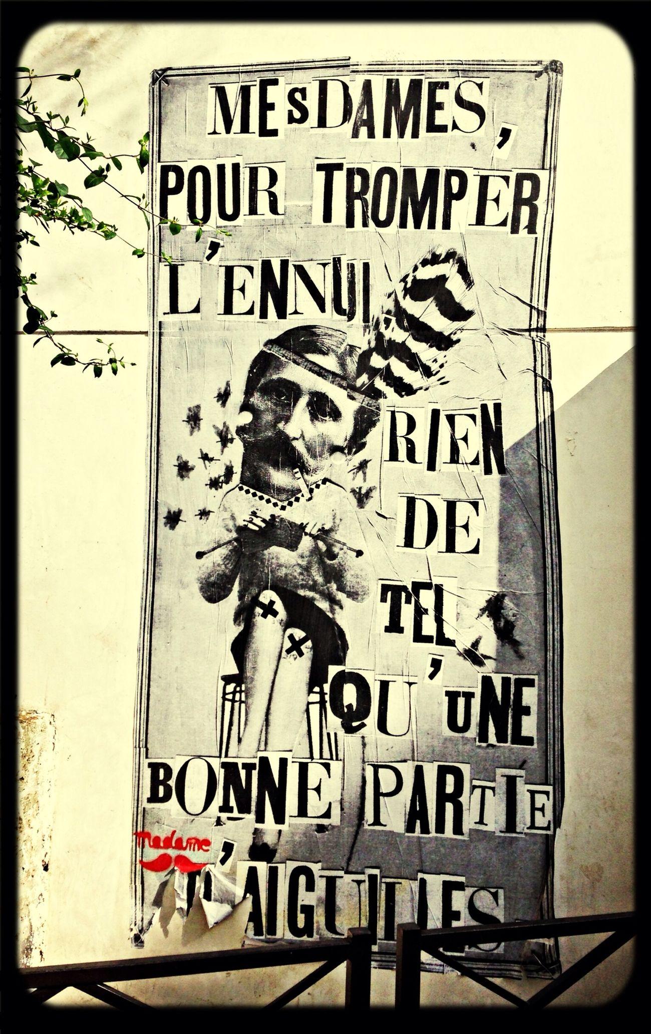 Street art || Paris 18ème || Mesdames
