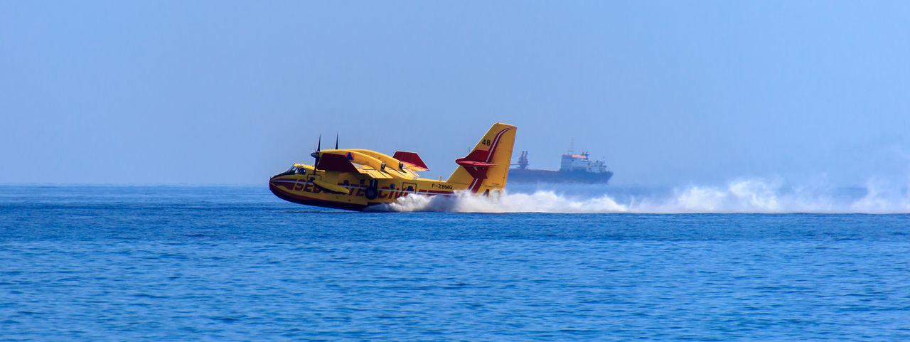 Beautiful stock photos of feuer, sea, outdoors, adventure, sky