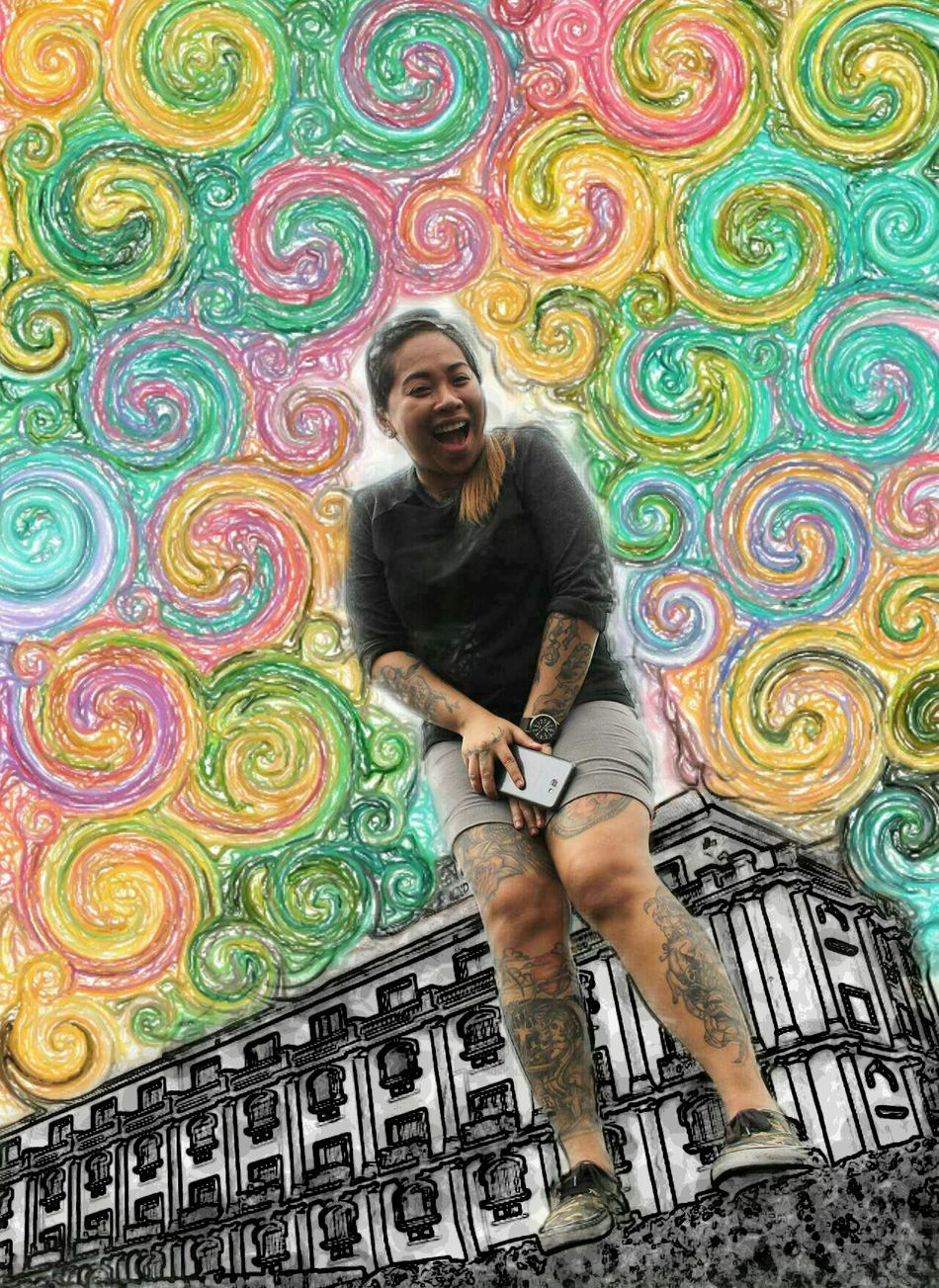 Swirly.. Photooftheday Photoography Taking Photos High Angle View SuperFiltered Outdoors Philippines ThatsMe