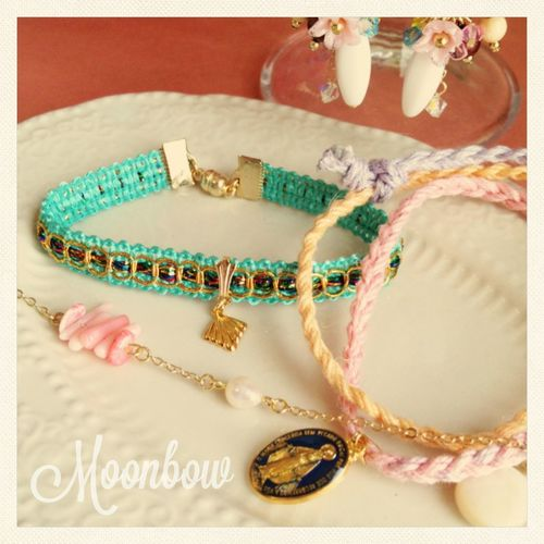 Handmade Accessories ハンドメイド Moonbow By Yuki