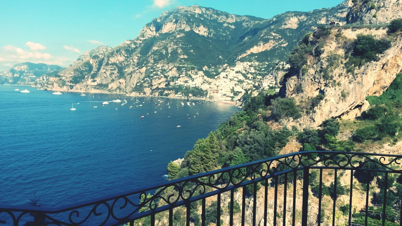 Amalfi Coast Work Beautiful Sun