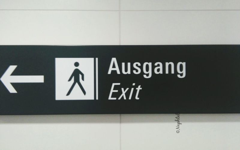 Exit SignSignEverywhereASign Go