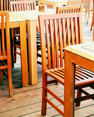 Wood - Material Day Outdoors Chair No People Close-up Reastaurant Castel Fusano. Rome. Italy Breathing Space Investing In Quality Of Life EyeEmNewHere The Week On EyeEm Your Ticket To Europe Mix Yourself A Good Time EyeEm Ready   The Graphic City
