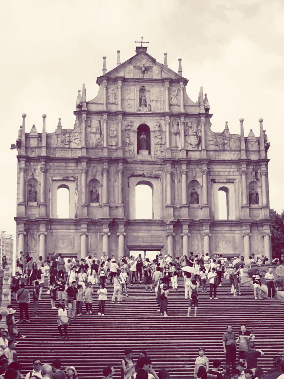 Ruins of St.Paul's, Macau