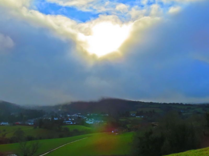 Sky Sunbeam Lens Flare Nature Cloud - Sky Tranquility Outdoors Sunlight Sun Scenics No People Landscape Road Beauty In Nature Day